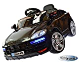Kinderfahrzeug 12V Coupe Swingfunktion Eva Leder Kinder Elektro Auto 2,4 GHZ RC