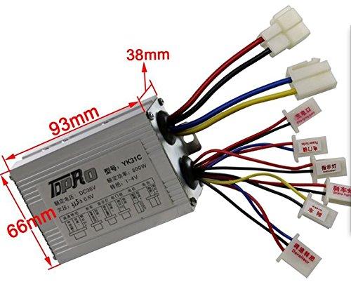 Preisvergleich Produktbild E-Scooter Elektroroller Steuergerät Controller 36 V 800W z.B. Mini ATV
