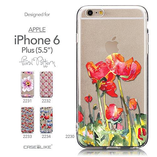 CASEiLIKE Comic Beschriftung 2914 Ultra Slim Back Hart Plastik Stoßstange Hülle Cover for Apple iPhone 6 / 6S Plus (5.5 inch) +Folie Displayschutzfolie +Eingabestift Touchstift (Zufällige Farbe) 2230