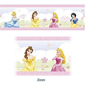 Disney Princesse - Frise Adhésive - Princess Castle