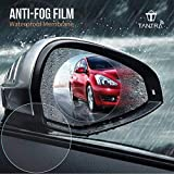#8: Tantra Anti-Fog Mirror Protective Film for Car Rear View Mirror & Side Window Glass Pack of 2 pcs (Transparent)
