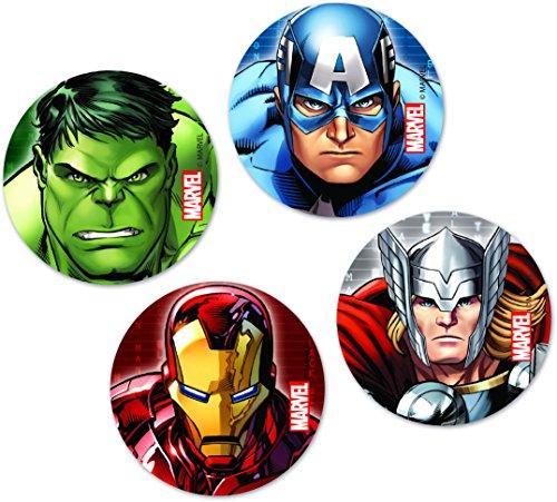 Avengers * mit ca. 22 großen Konfetti-Teilen für eine Motto-Party // Party Kinder Kindergeburtstag Konfetti Deko Motto Marvel Superheld Hulk Iron-Man Captain-America ()