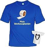 Rahmenlos T-Shirt Minishirt Geschenk-Set Mein Werkzeugkasten, Größe:XL