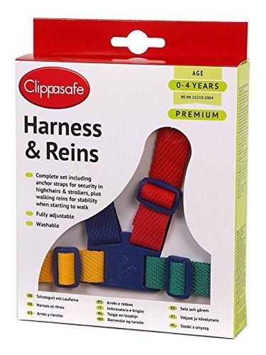 Arnés Clippasafe de fácil lavado (multicolor)