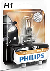philips 12258prb1 ampoule de phare h1 12 v 55 w auto et moto. Black Bedroom Furniture Sets. Home Design Ideas