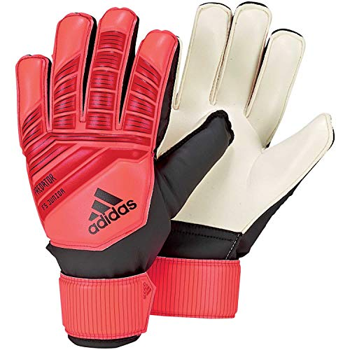 adidas Kinder Predator Top Training Fingersave Torwarthandschuhe, Active Solar Red/Black, 4