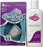 Coupe menstruelle DivaCup modèle 2 (grande taille) + DivaWash solution nettoyante