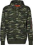Alpha Industries Herren Oberteile / Hoody X-Fit camouflage M