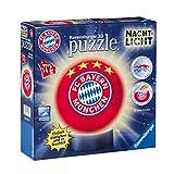 FC Bayern München 3D Puzzle Nachtlicht FCB + gratis Sticker München Forever/FCB
