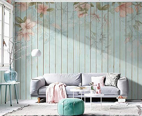 Im europäischen Stil handgemalte TV-Hintergrund Wandpapier Wohnzimmer Video Wanddekoration Tapete atmosphärische Blume benutzerdefinierte Wandmalerei 400cm * 280cm