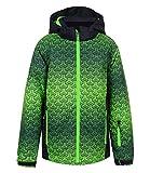 Icepeak Jungen Skijacke Schneejacke Winterjacke Kapuze Horus JR 2-50 055 646, Farbe:Grün, Größe:164, Artikel:-560 Antique Green