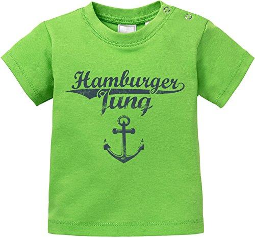 EZYshirt® Hamburger Jung & Deern Vol. 2 Baby T-Shirt Bio Baumwolle