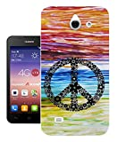 553 - Watercolor colorful peace Design Huawei Ascend Y550