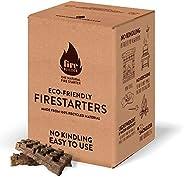 FireBuilder - Pastillas de Encendido para Chimenea y Barbacoa. Muy fácil de Usar sin necesitar Otro Producto.