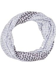 Eider eiv4141–Bufanda Combinada, color Misty Grey Stitch, tamaño talla única