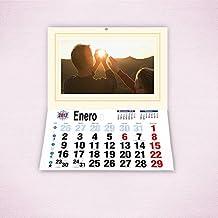 Calendarios personalizados faldilla 31 x 42 cm - Imprime tu pack de 2 calendarios idénticos.