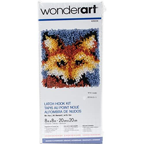 Wonderart Knüpfhaken-Set Mr. Fox 8 x 8 Mr. Fox 8 X 8