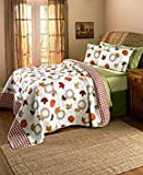 The Lakeside Collection 3-Pc. Harvest Quilt Set (Full/Queen)