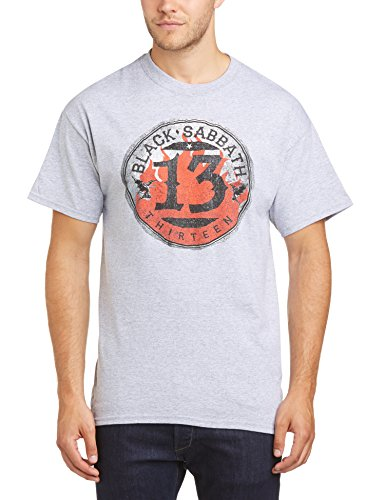 Black Sabbath Herren T-Shirt Gr. S, grau (Talk Short Sleeve Tee)