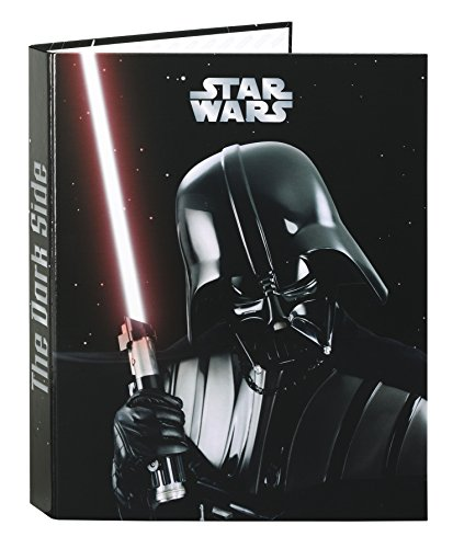 Star Wars Carpeta de cartón con 4 anillas (Safta 511501067)