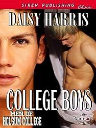 College Boys [Men of Holsum College] (Siren Publishing Classic ManLove)