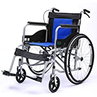 Silla de ruedas Plegable, con el retrete, Carro Viejo, Vespa discapacitada portátil, Mayor, (Color : C)