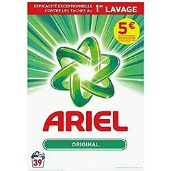 Ariel Original Lessive en Poudre 2,535kg 39Lavages