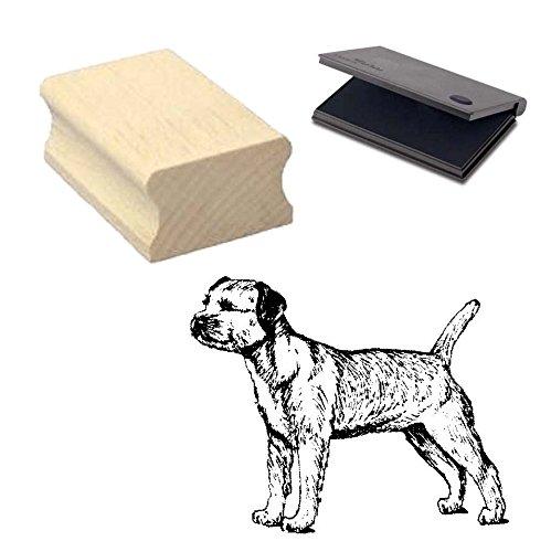 -border-terrier-motivstempel-mit-kissen-scrapbooking-embossing-basteln