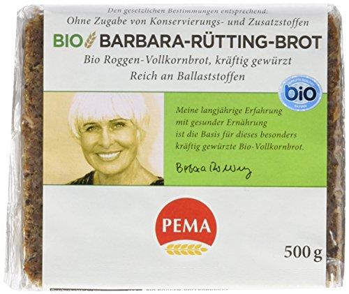 Pema Barbara Rütting Bio Brot, 6er Pack (6 x 500 g) - Brot