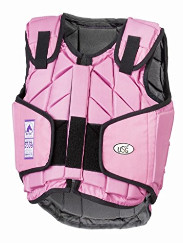 United Sportproducts Germany USG Panel-Sicherheitsweste Eco-Flexi pink Kinder S
