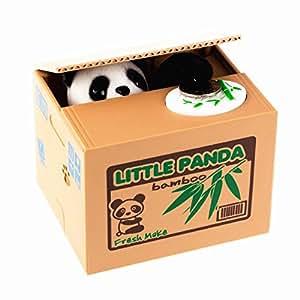 Lmtech little panda money bank saving box panda money box for Home money box