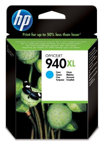 HP 940XL Cyan Original Tintenpatrone mit hoher Reichweite