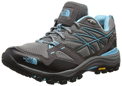 The North Face Hedgehog Fastpack Gore-Tex, Damen Trekking- & Wanderhalbschuhe, Grau (Dark Gull Grey/Fortuna Blue Rd6), Gr.36 EU(3 UK)