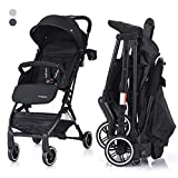 COSTWAY Kid Pram | Folding Baby Stroller | Travel System Carrycot with Five-Point