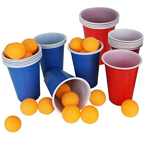 Partyspiel - Trinkspiel - Spiel - Bierpong - Bier-Pong - Spielset
