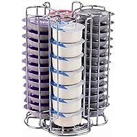 Exzact EX-TS084-52 Soporte para cápsula de café Tassimo (52 Piezas) - Soporte Giratorio para Torre de cápsulas