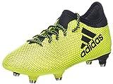 Adidas X 17.3 SG, Chaussures de Football Compétition Mixte Enfant, Jaune (Solar Yellow Legend Ink), 37 1/3 EU