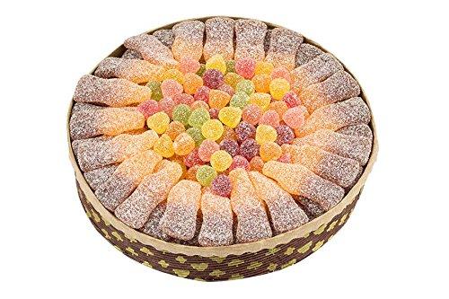 s Fruchtgummi, süß und sauer, Cola-Orange-Geschmack, Halloween, Geburtstag, Party-Torte, 610g (Halloween-lebensmittel Süße)