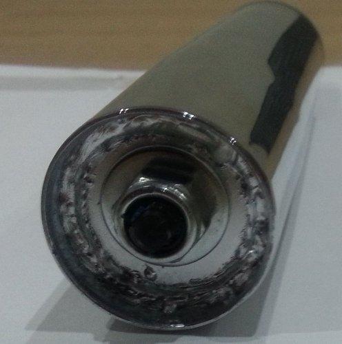 Ersatz Chrom Gas Lift Mechanismus Teil für Home PC Büro Schreibtisch Stuhl (Ersatz-stuhl-teile)