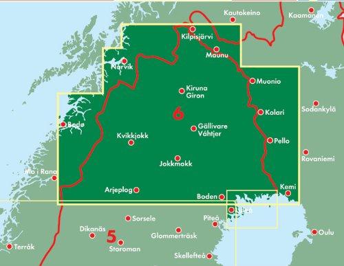 Schweden Blatt 6 Lappland / Kiruna 1 : 400 000 (freytag & berndt Auto + Freizeitkarten): Alle Infos bei Amazon