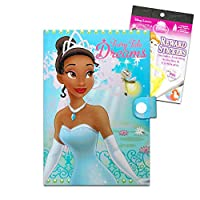Disney The Princess and The Frog Journal Notebook Set -- 52 Page Princess and The Frog Journal with Bonus The Princess and The Frog Stickers (The Princess and The Frog School Supplies)
