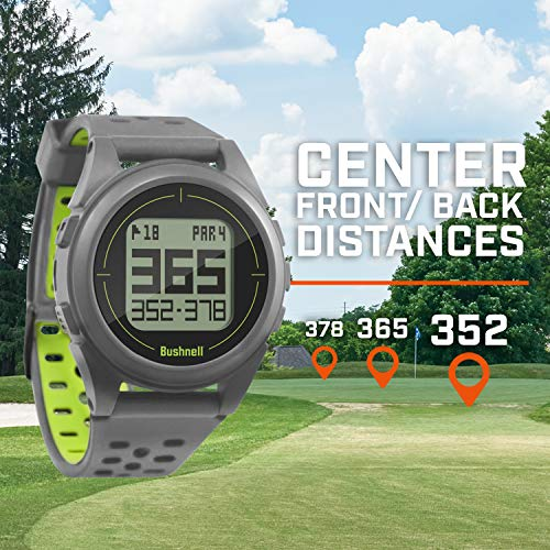 Bushnell ION 2-Silver/Green GPS de Golf, Argent/Vert, Taille...