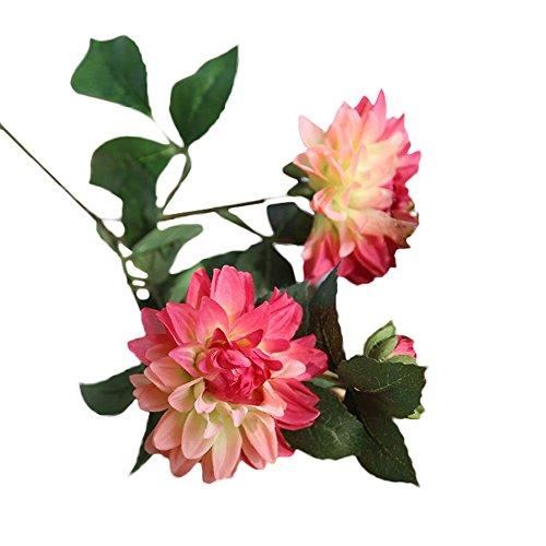 tur Künstlicher Blumenstrauß Der Eleganten des Spassvogels Gefälschten Glamour Dahlia Künstliche Blume Wohnzimmer Büro Dekoration Hochzeit Esstisch Deko ()