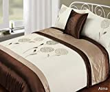 Rapport Alma 'Bed in a Bag' Bettwäsche-Set, Polyester, Latte, King Size
