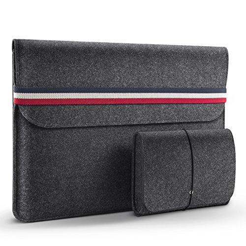 HOMIEE 15-15.6 Zoll Laptoptasche mit Extra Aufbewahrungsbox, Geeignet für ultradünne Computer, Wird hauptsächlich für das MacBook Air verwendet, Netbook, Tablet Hülle Ultrabook, stoßfest