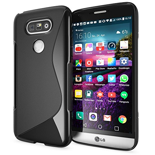delightable24-schutzhulle-hulle-cover-case-tpu-silikon-lg-g5-handyhulle-s-line-schwarz