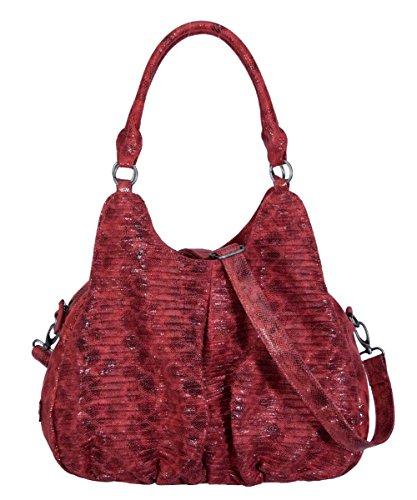 Fritzi-DAJA-Snake-Red Shopper 43x28x20 (Snake Shopper)