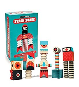 Invisible Creature Stack and Scare: Rodney - Made in USA by Uncle Goose