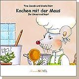 Kochen mit der Maus (für Mädchen) - personalisiertes Kinderbuch mit Ihrem Kind in der Hauptrolle. Individuelles Bilderbuch mit personifizierbaren Graphiken. Ein Buch über gesunde Ernährung und mit einer einfachen Anleitung für kleine Köchinnen. Für wissensdurstige Mädchen im Alter von vier bis sechs Jahren.