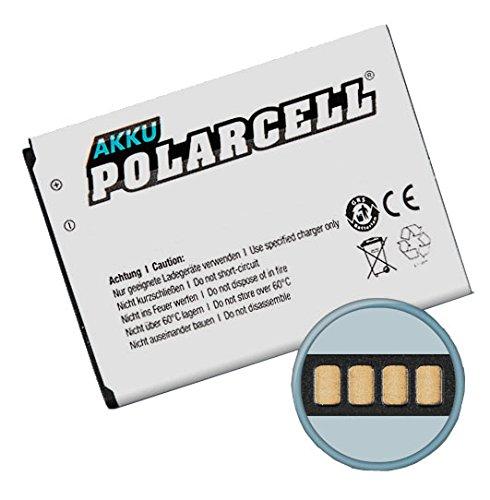 PolarCell Batería de litio para Sony-Ericsson Xperia E1/J/M/L/TX (BA900) 1850mAh, 6,8wh